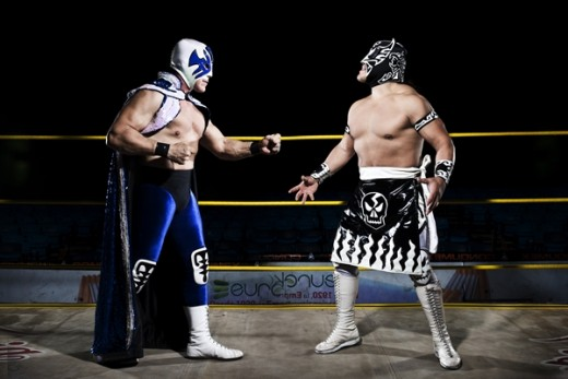 Atlantis and Ultimo Guerrero, enemies turned friends turned enemies