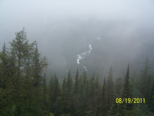 DEEP IN THE VALLEY, STILL ON THE WAY TO CARCROSS BY BUS