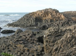 The Giant's Causeway in Ireland