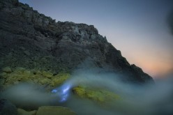 Kawah Ijen: Volcano that spews Blue Flames