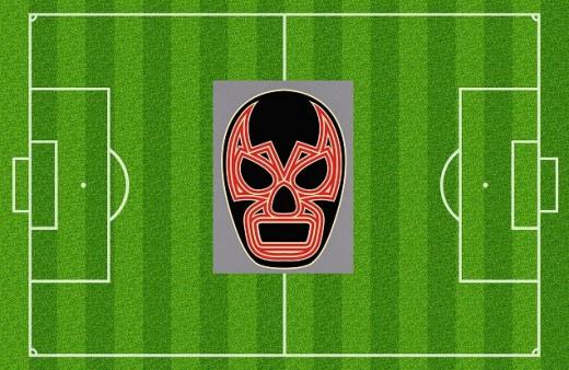 My terribly made Lucha F.C. stadium!