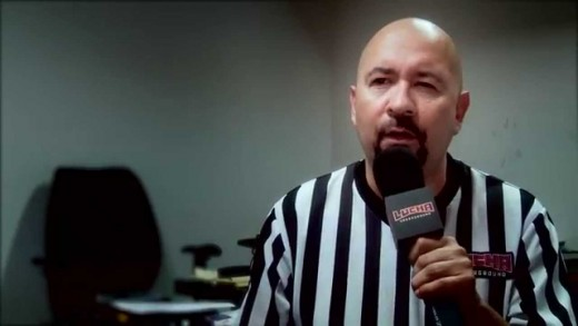 Future football ref Marty Elias in no way shape or form favors Lucha Underground F.C.