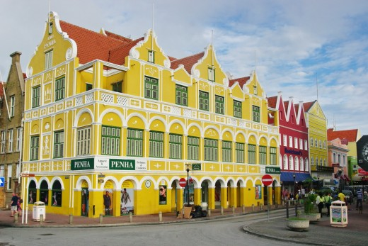 Curacao stays warm and dry throughout most of the year including February. Credit: Wikimedia.