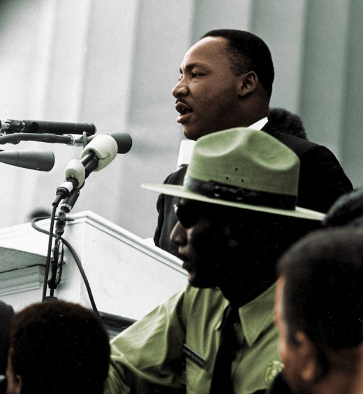 Martin Luther King, Jr. [Public domain], via Wikimedia Commons