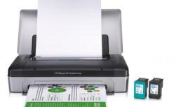 HP Portable Printer Scanner Combo Officejet 100 Mobile