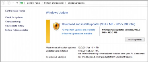 how to avoid a windows update