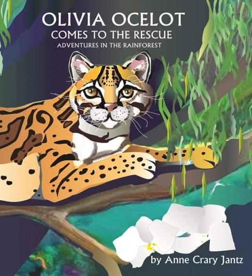Cheeky Ocelot in Costa Rica