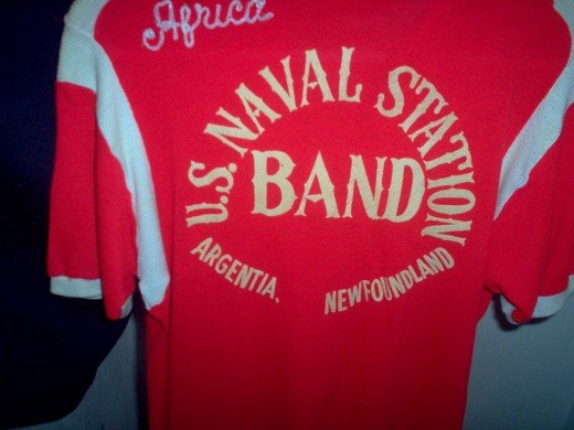 Old US Navy Band shirt - Canada
