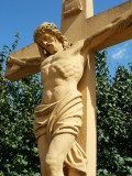 Crucifiction, death and resurrection of Jesus Christ