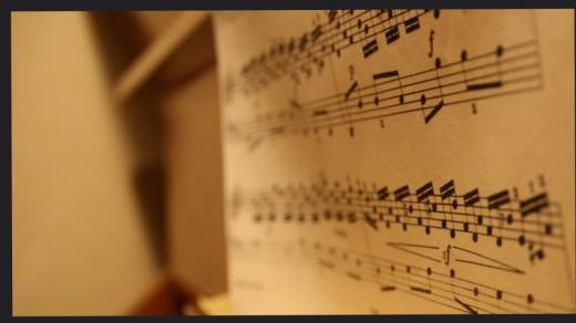 music notes | Yngve Bakken Nilsen
