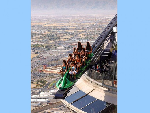 You prefer a theme park? Only in Las Vegas...