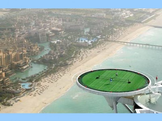 You are athletic person? Then a tennis match in Dubai...