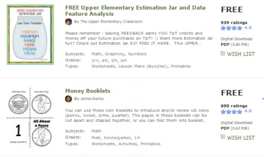 Look up any skill and find free resources made by teachers!
