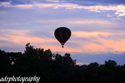 One day, you'll find someone to sweep you off your feet into a hot air balloon for a wedding.