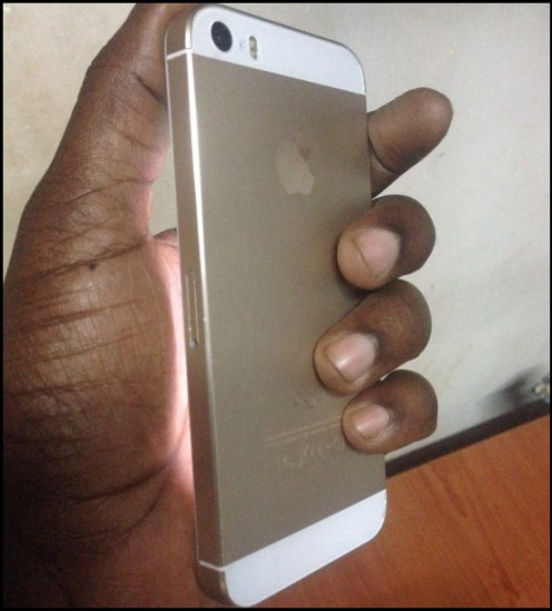 A sample fake iPhone 5 doing the rounds in many African markets