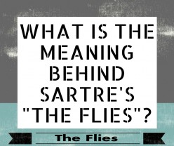 How Does Sartre Define the Universal Human Condition in His Play The Flies?