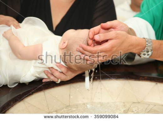 Catholic Baptismal ritual