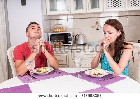 Prayer before eating