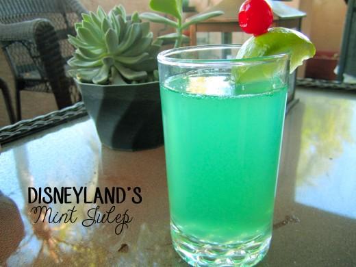 Disneyland's Mint Julep
