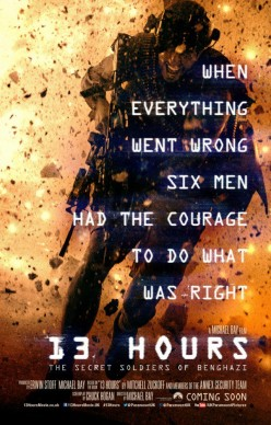 New Review: 13 Hours: The Secret Soldiers of Benghazi (2016)