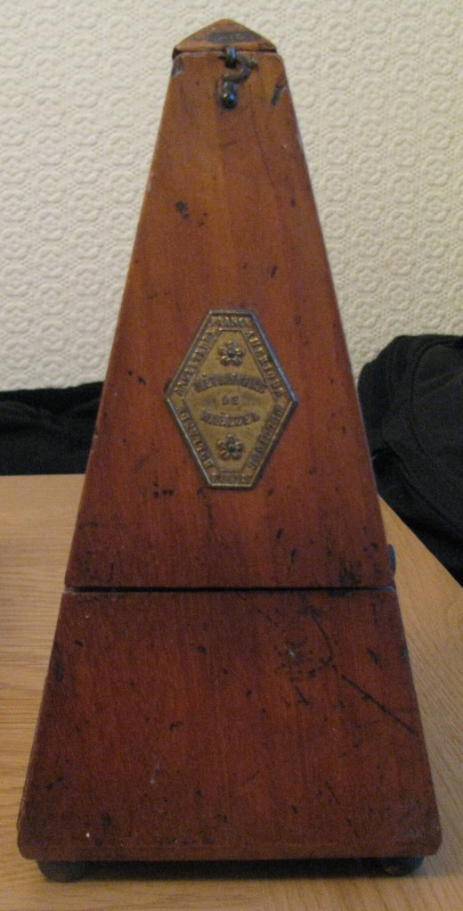 My mother's metronome