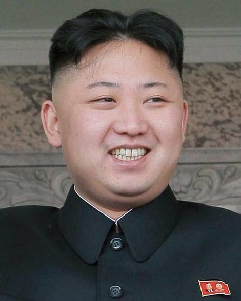 NK's Kim Jong - Un.