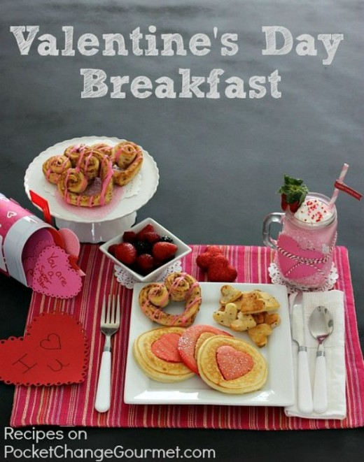 Valentine's Day breakfast recipe ideas for kids - your family's going to love these heart shaped recipe ideas.