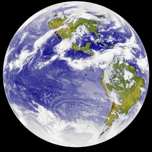 The Planet Earth:  A Precious Jewel In Space.