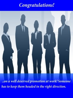 Interesting Congratulation Messages for Promotion