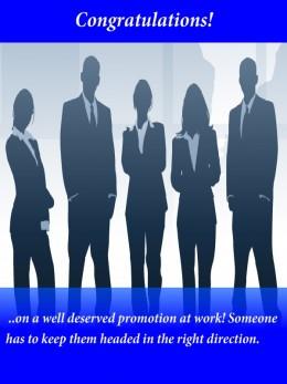 Congratulation message on promotion