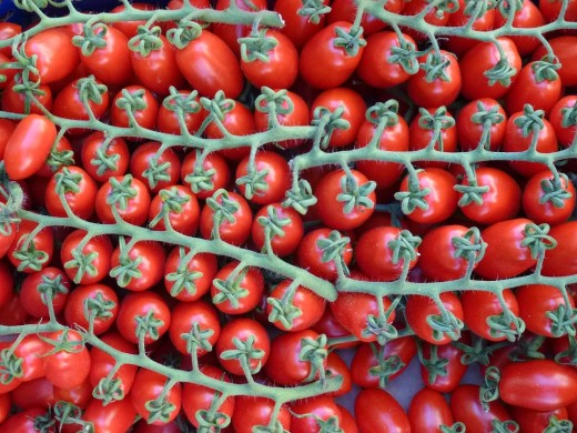 Tomatoes for skin care