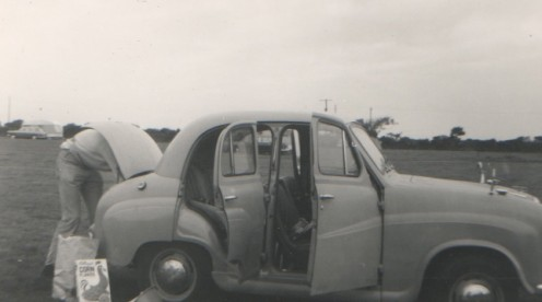 My first car, an Austin A30