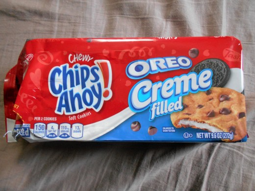 Chips Ahoy! Oreo Creme Filled