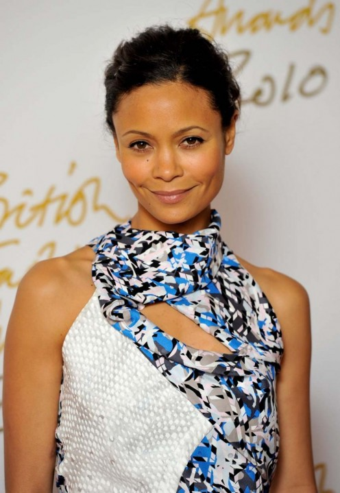 Thandie Newton at the British Fashion Awards in 2010.