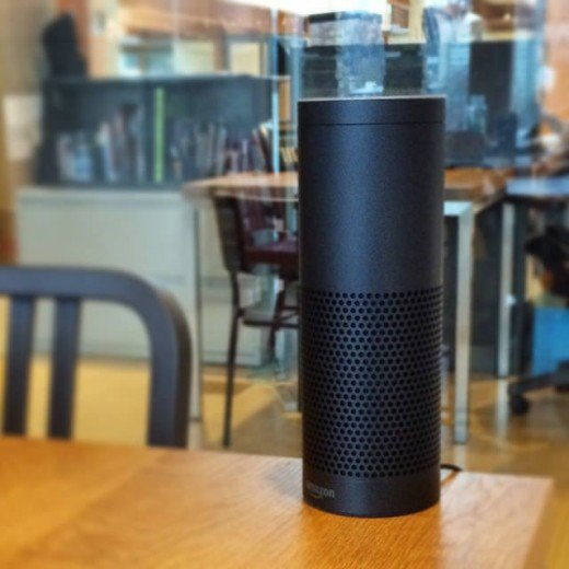 Amazon Echo (1st Gen) with Alexa.