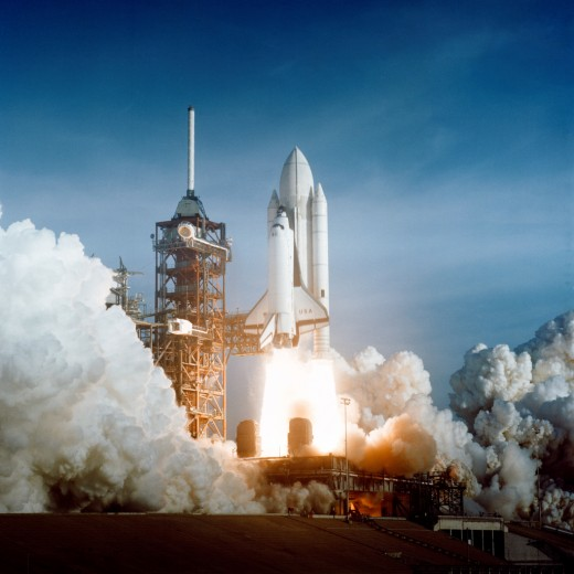 Insulating ceramic foam tiles on the underside of the space shuttle protected the space craft from the heat of reentry