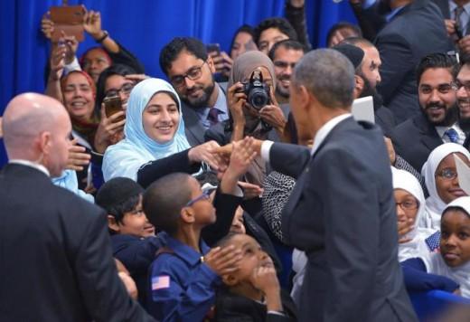 Obama Visiting US Mosque