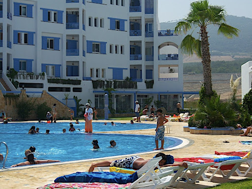 The Jawhara Smir complex, east of Tangier is an excellent place for a family vacation