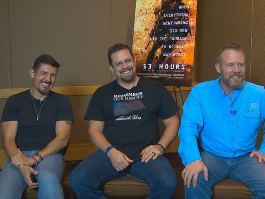 The real heroes of Benghazi in Seattle for the movie 13 Hours.
