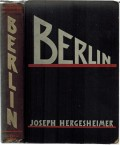 "Book Review of ""Berlin"" (1932), by Joseph Hergesheimer"