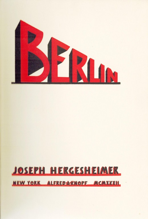 Title page of Berlin
