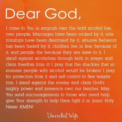 Prayers For My Husband To Stop Drinking