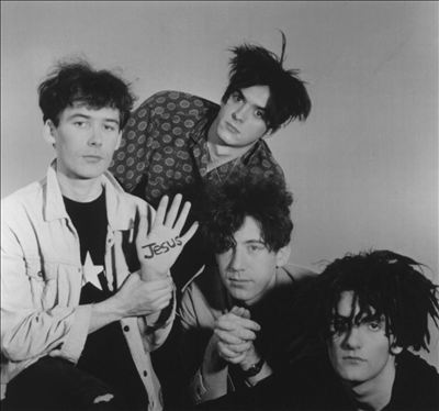 Noise pop pioneers Jesus and Mary Chain.