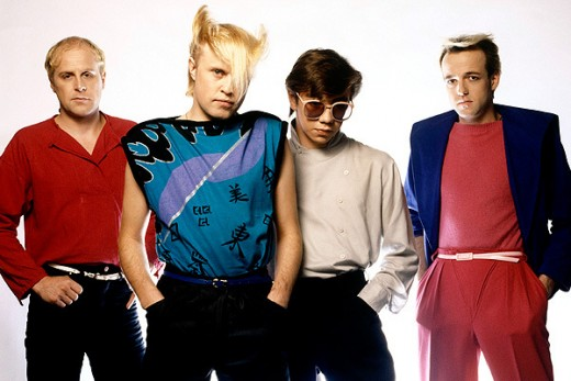 A Flock of Seagulls, and their iconic haircut.