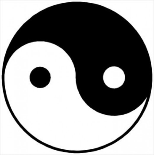 The Taoist symbol of yin-yang influenced ancient Chinese medicine, symbolizing the flow of positive and negative energies.