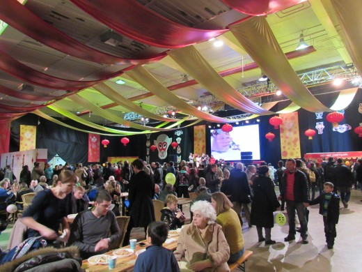 A lot of people attended Chinese New Year Celebration in 2016