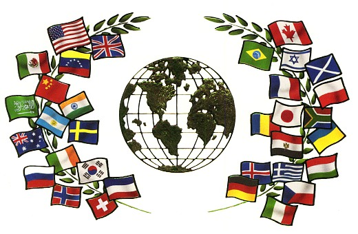 A degree in a foreign language can broaden your perceptive in your career choice. This photo represent the languages of many nations.