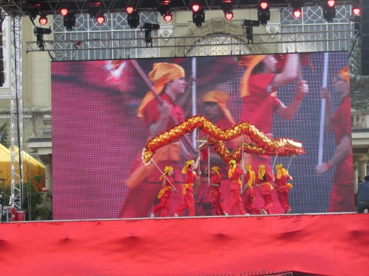 The Dragon Dance by the Czech-Chinese group Wushu