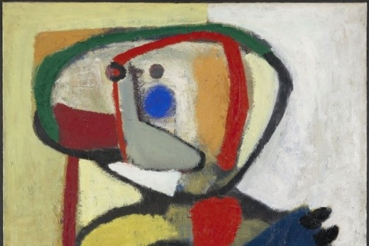 Karel Appel, Kind IV, 1951 oil on canvas , 130,8 x 110,5 cm, collection Gemeentemuseum Den Haag