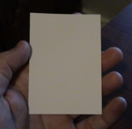 "blank 2 1/2"" x 3 1/2"" ACEO cards"